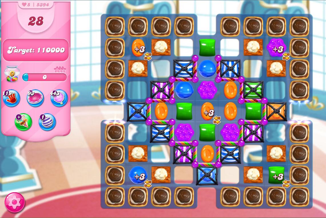 Candy Crush Saga level 5394