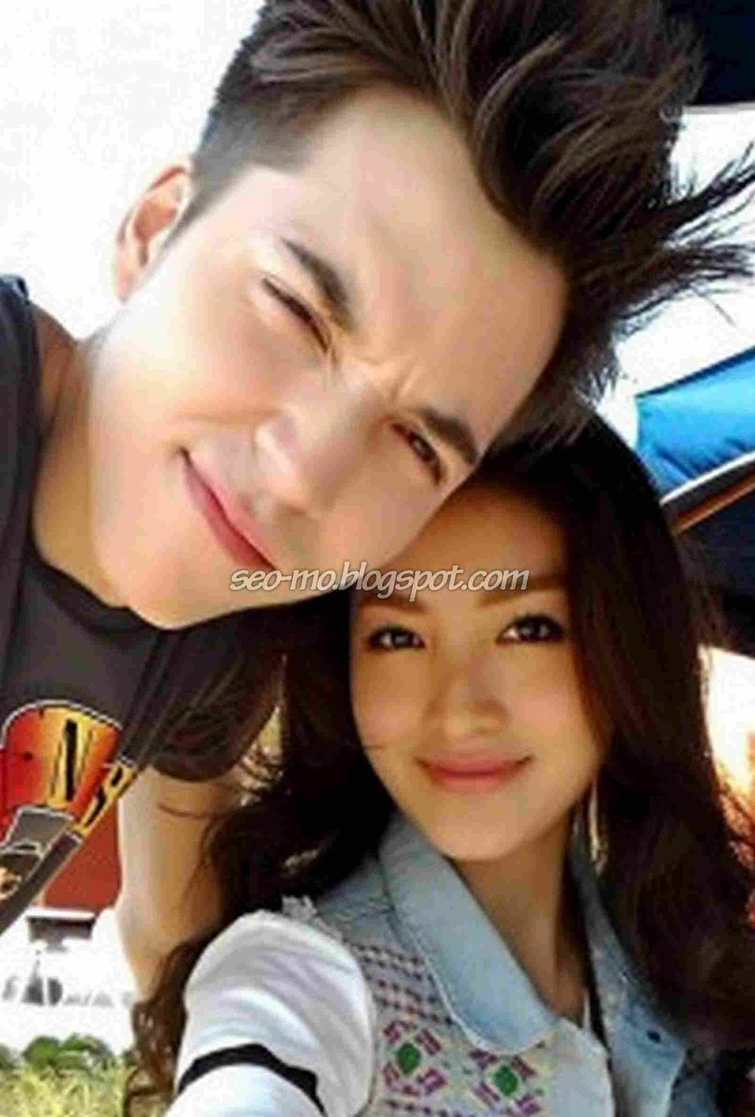 Foto Romantis Stefan William Dengan Natasha Wilona