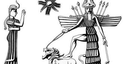 DIALOGO ENTRE MASONES: Inanna-Ishtar: la Diosa