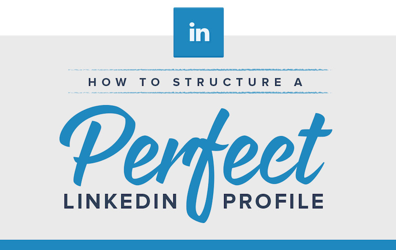The Anatomy a Perfect LinkedIn Profile - #infographic #socialmedia