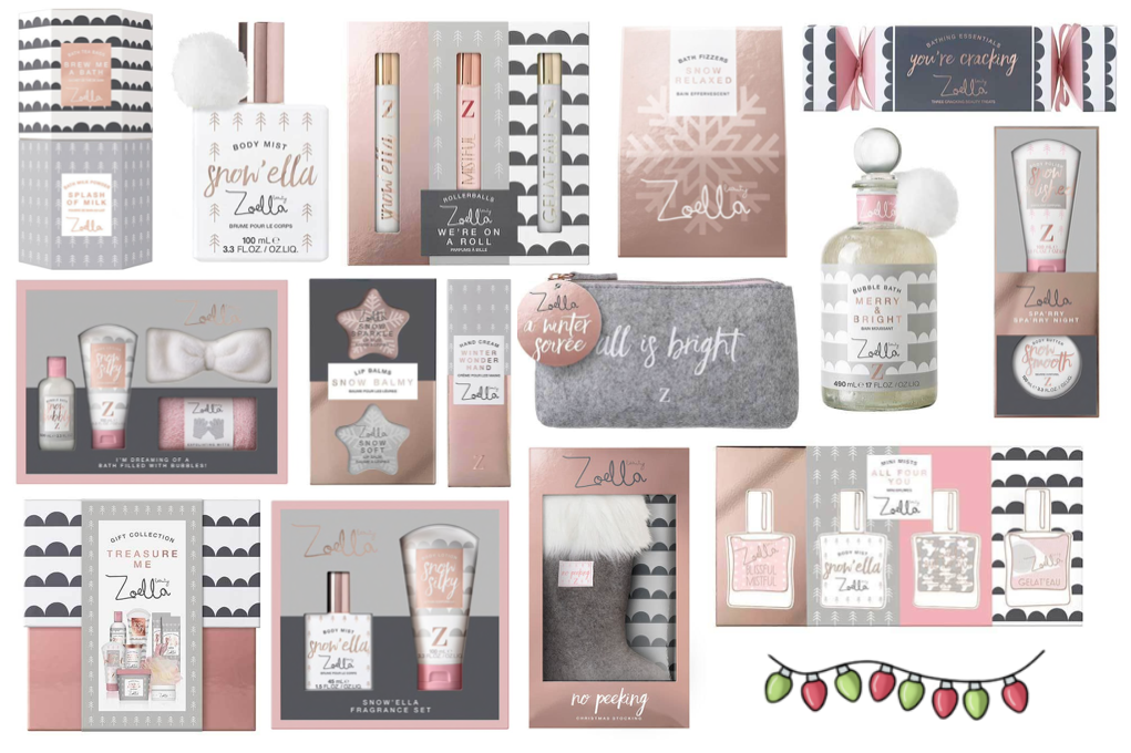 Zoella Beauty 'Snowella' Christmas Collection 2017