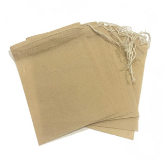 Natural Paper Drawstring Teabags