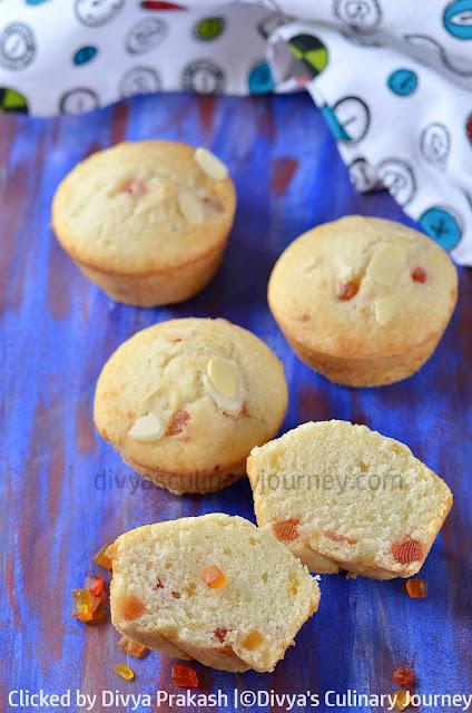 eggless-muffins-with-tutti-frutti