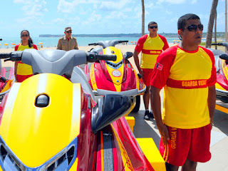 Corpo de Bombeiros alerta para evitar afogamentos