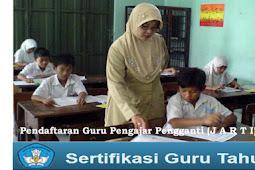 Pendaftaran Guru Pengajar Pengganti (JARTI) Tahun 2018