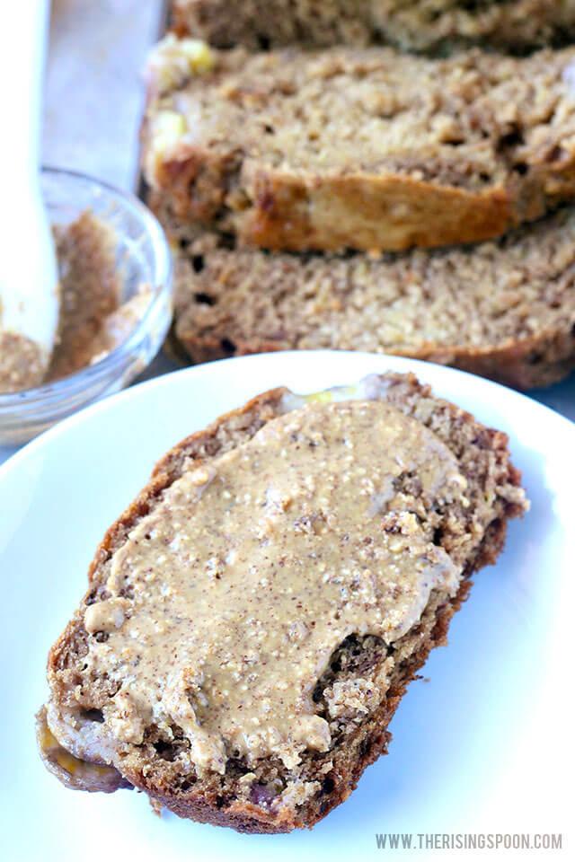 Healthy Banana Bread (Moist, Fragrant & Naturally Sweetened)