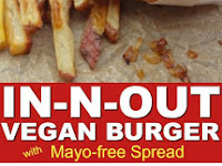 COPYCAT IN-N-OUT VEGAN BURGER WITH SPREAD