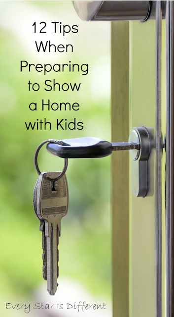 12 Tips When Preparing to Show a Home with Kids