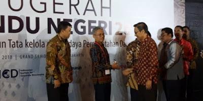 Provinsi Lampung Raih Perhargaan Pemda Dengan Kinerja & Tata Kelola Baik 2018