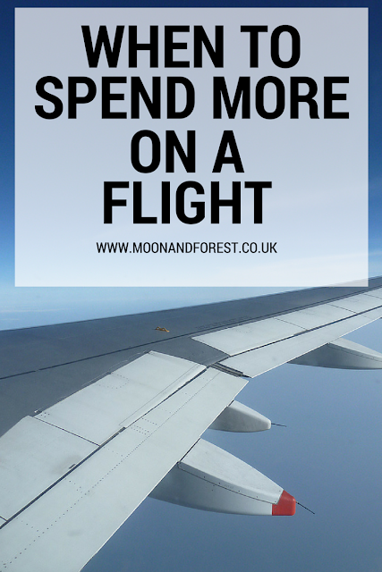 When to Spend More on a Flight