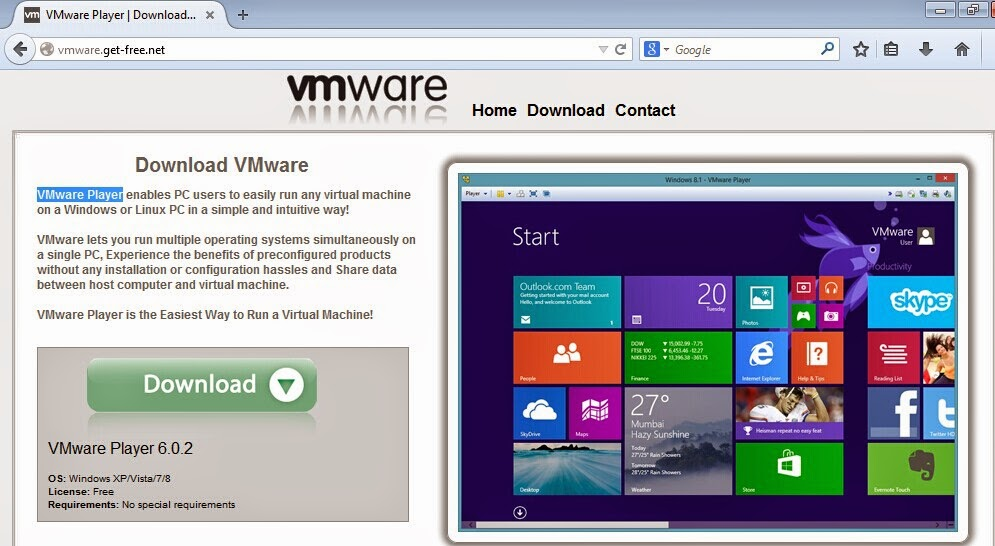 How can I help you remove PUPs?: FAKE VMware Player download resource found!