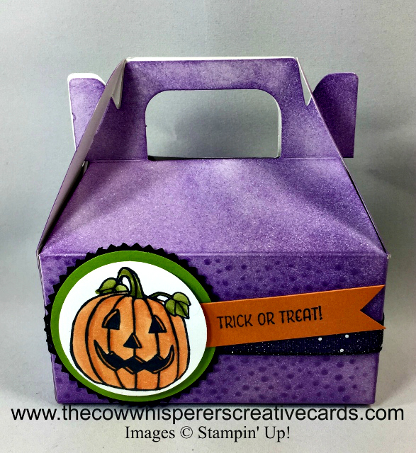 Gable Box, Trick or Treat, Season Chums, Emboss