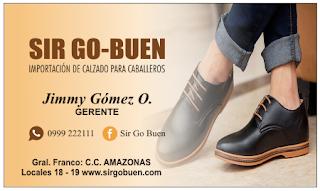 Tarjetas de presentación zapatos de hombre