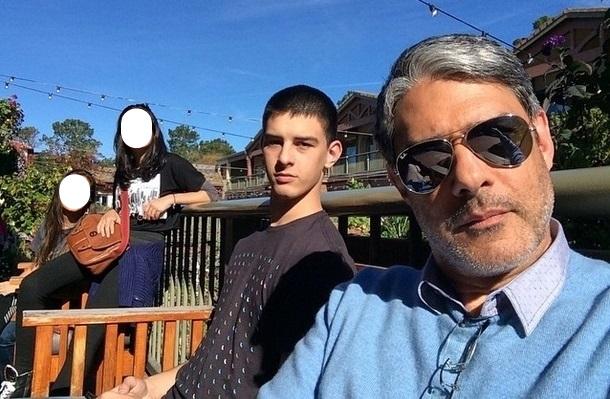 Vinícius Bonemer, filho de Fátima Bernardes e William Bonner, sofre acidente de carro