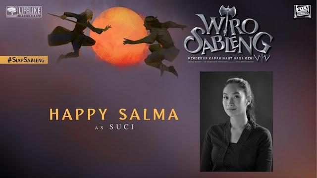 Happy Salma sebagai Suci/ Sumber foto @LifeLikePictrs