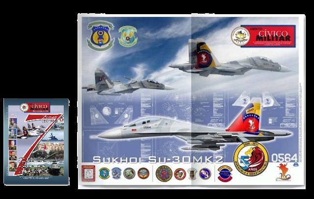 venezuela sukhoi su-30mk2 quinto aniversario bicentenario 5to ceo dir 119 camuflaje racm