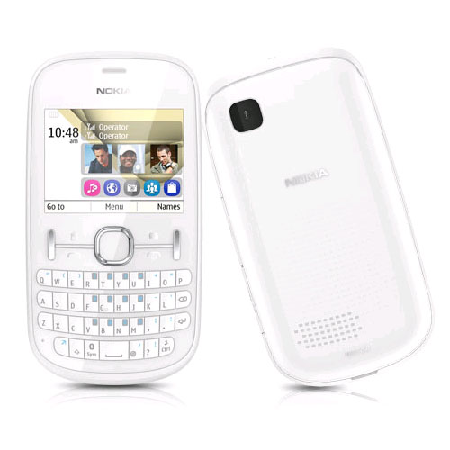 The Best Mobiles @ The Best Price: Nokia Asha 200 White