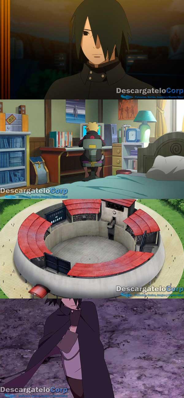 Boruto Naruto la Pelicula HD 720p