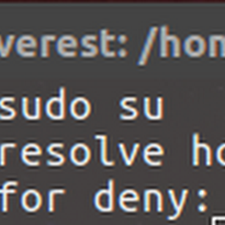 Cara Mengatasi Error sudo: unable to resolve host - TKJ DENY