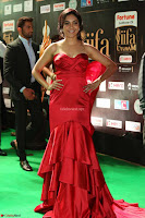 Reetu Varma smiling beauty in Deep Neck Red Gown at IIFA Utsavam Awards 2017  Day 2  Exclusive 16.JPG