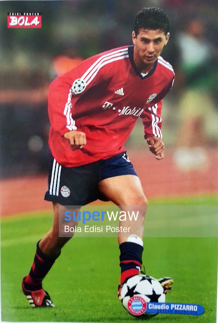 Poster Claudio Pizzarro (Bayern Munchen)