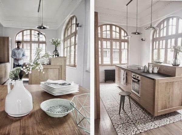 Comment bien agencer sa cuisine for Deco appartement 1900