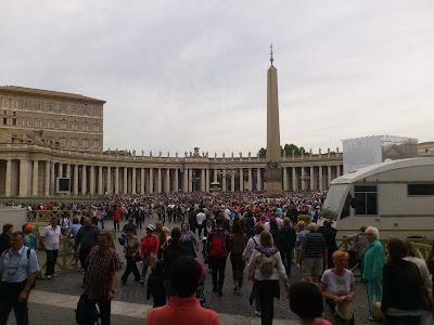 Praça São Pedro - Vaticano - Roma - Itália