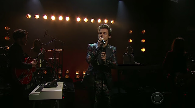Harry Styles Performs At Late Late Show With James Corden