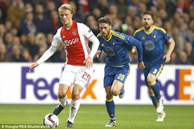 Ajax Amsterdam Gunduli NEC Nijmegen 5-0