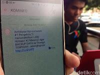 Anda Terima SMS Soal WannaCry? Perhatikan isinya, Itu Bukan Hoax