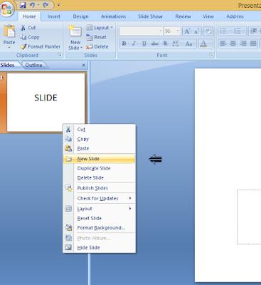 cara menambah slide di powerpoint ppt