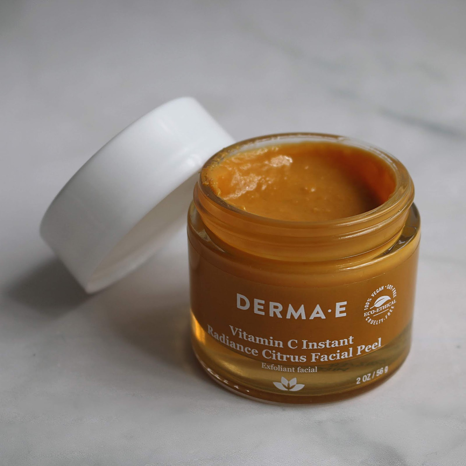 DERMA E Vitamin C Instant Radiance Citrus Facial Peel Review