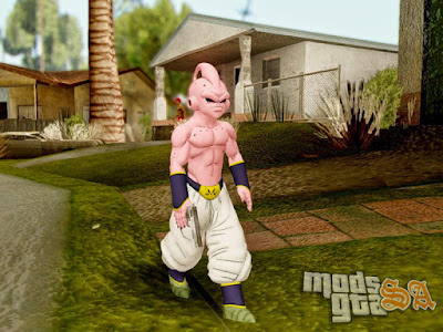 Skin Kid Buu - Dragon Ball Xenoverse para GTA San Andreas