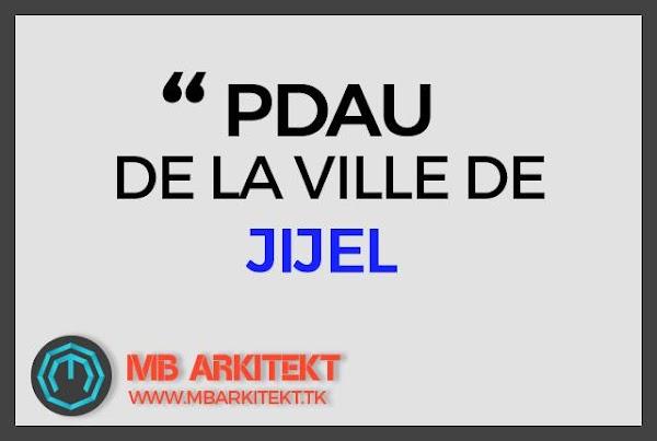 PDAU DE LA VILLE DE JIJEL