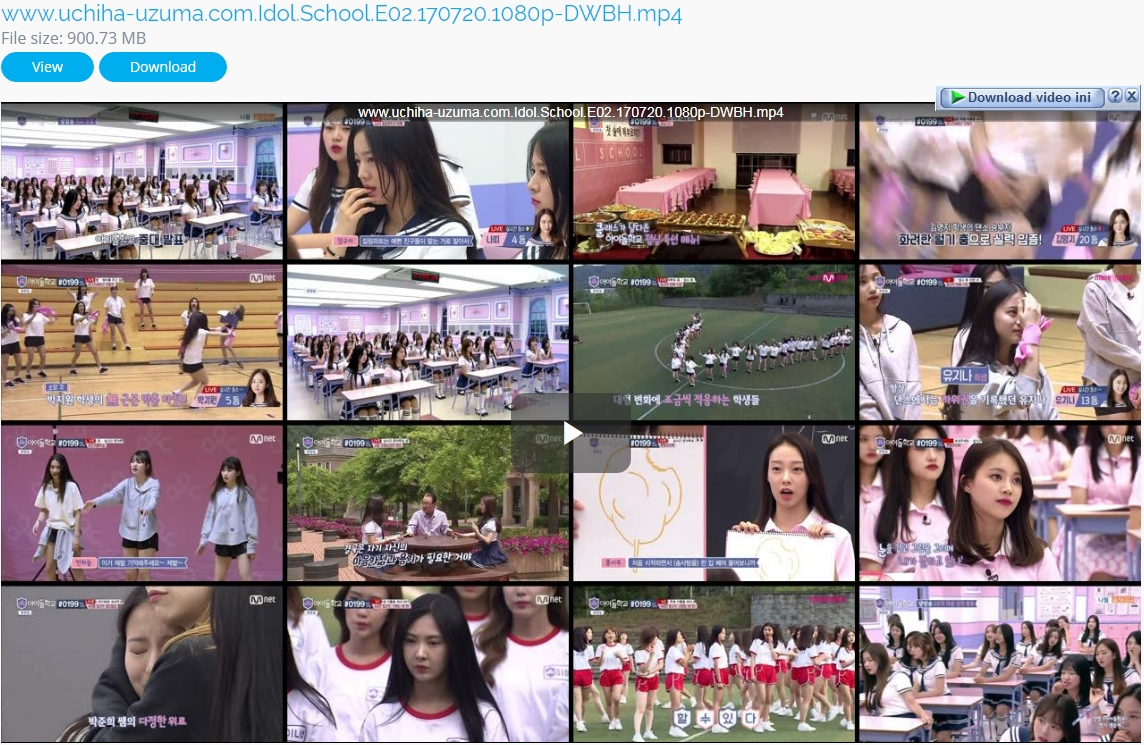 Screenshots TV Shows Idol School (2017) Episode 02 1080p 720p 480p 360p Subtitle English - Indonesia MP4 Free Full Video