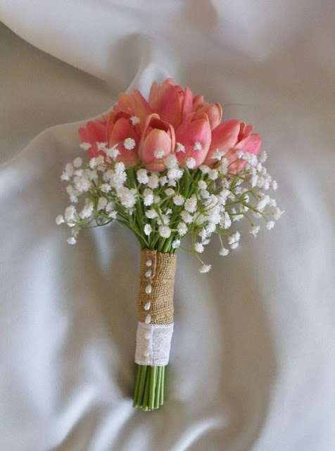 Resultado de imagen de ramos de novias sencillos