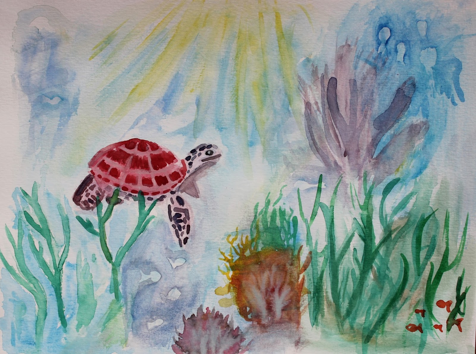 Bekend Aquarel #Schilderen | Senna's Fotoblog &XM58
