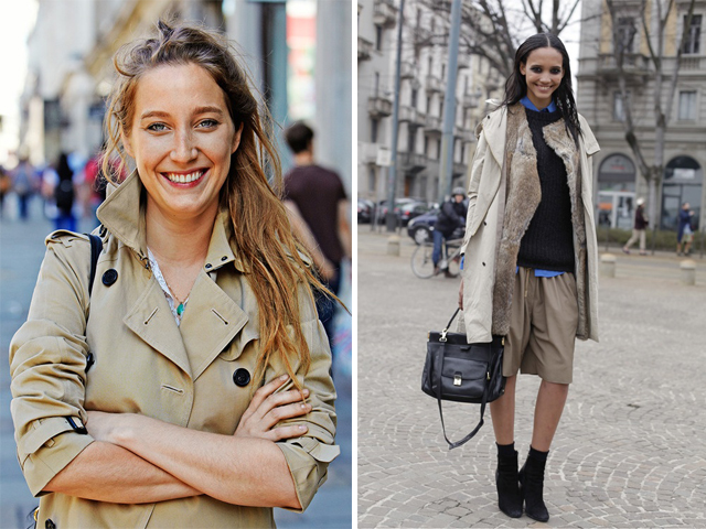 comment porter un trench coat