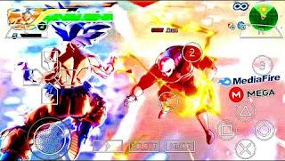 SAIU! NOVO DRAGON BALL TENKAICHI TAG TEAM (MOD) SUPER V1 +MENU PARA ANDROID (PPSSPP) ISO DOWNLOAD