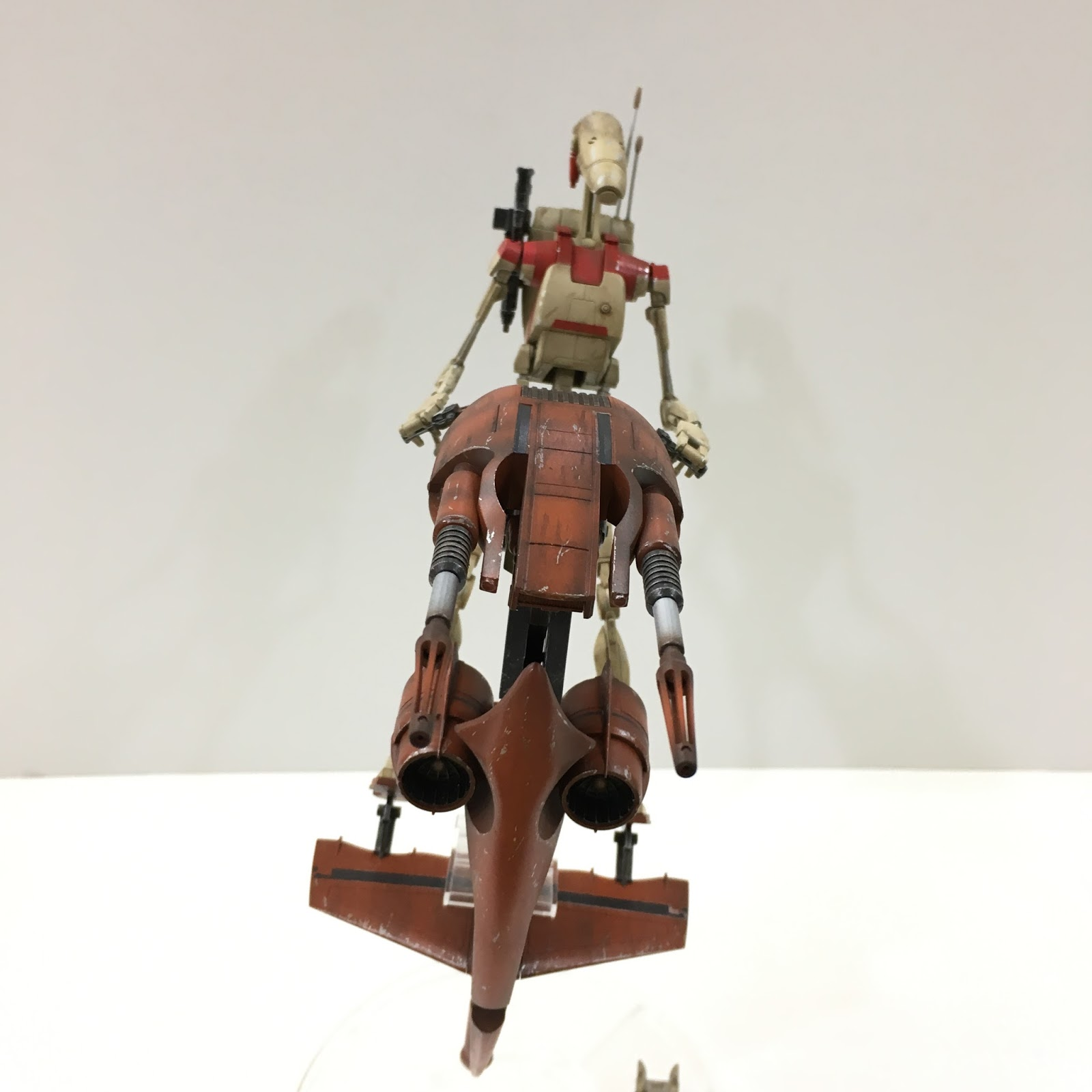 how to make a battle droid
