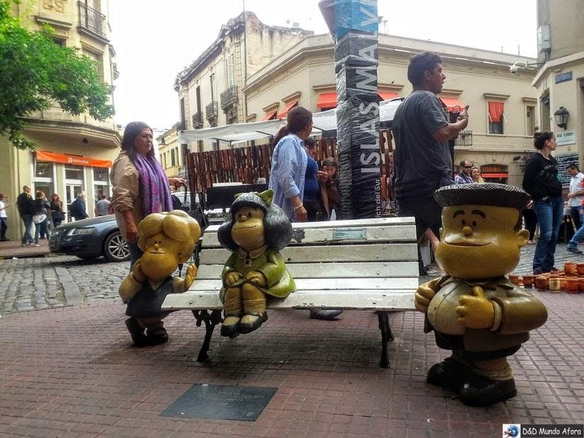 Conhecendo a Mafalda em Buenos Aires