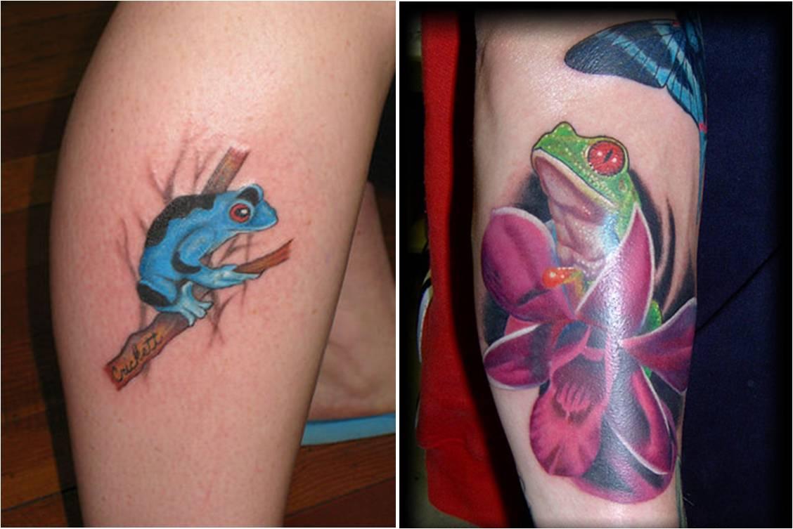 Frog Tattoo Ideas: Trend Tattoos: Frog Tattoos
