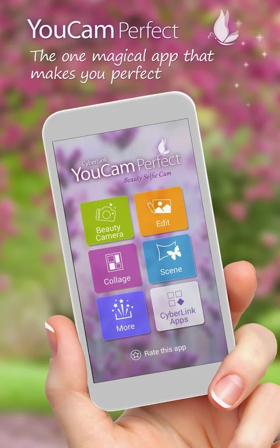 YouCam Perfect v 1 4 1 – Selfie Cam Free Download Android
