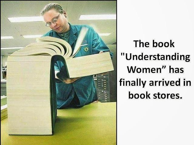 Funny Understanding Women Book Published Joke Picture