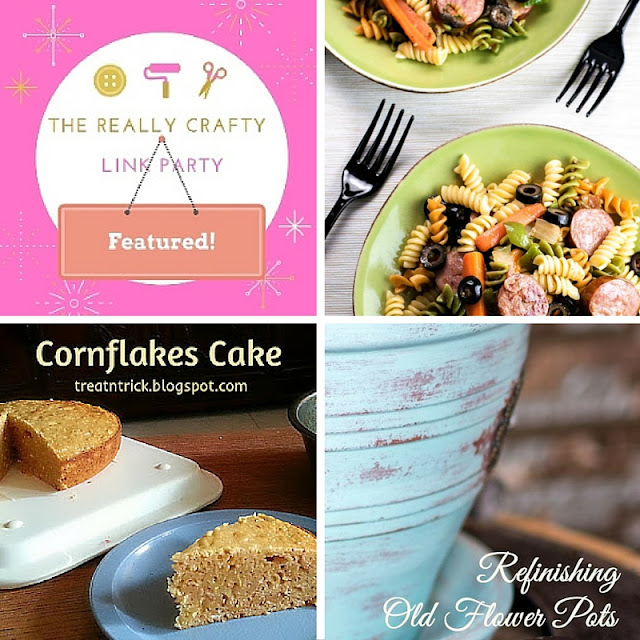 The Really Crafty Link Party #15 featured posts!