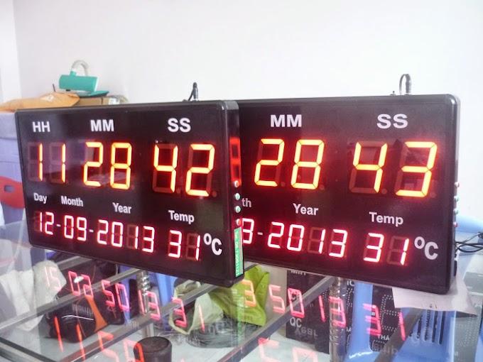 Đồng hồ điện tử treo tường - Nhiệt độ