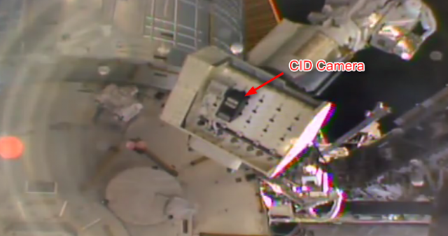 CID camera installed on the International Space Station. Photo Credit: NASA