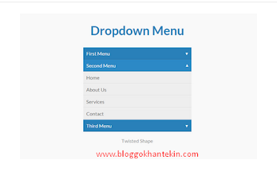 Blogger Siteler İçin Harika Bir Dropdown Menü Eklentisi