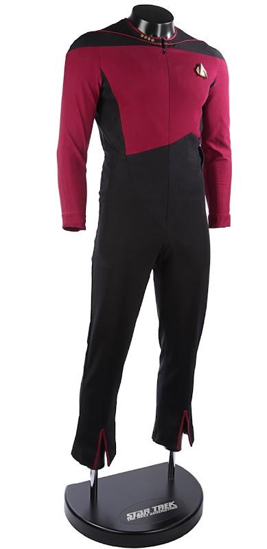 Captain Picard Starfleet uniform Star Trek Next Generation