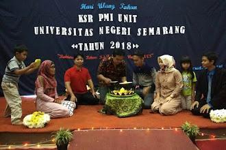 KSR PMI Unit UNNES merayakan Hari Ulang Tahun ke-31